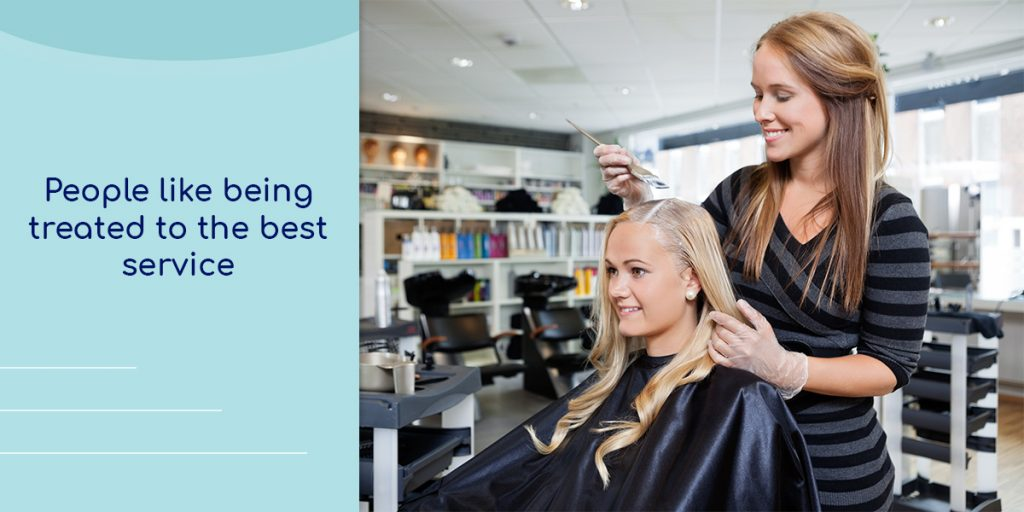 How to get more clients in a salon. Make a good first impression
